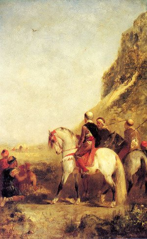 Eugene Fromentin - Arabs Hunting