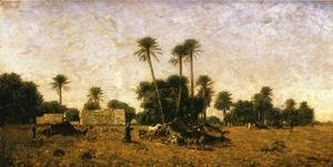 Tents of the Smalah of Si-Hamed-Bel-Hadj, Sahara