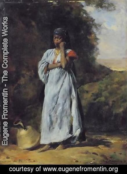 Young Woman by the Nile (Jeune femme devant le Nil)