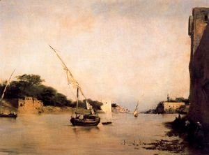 Eugene Fromentin - View of the Nile