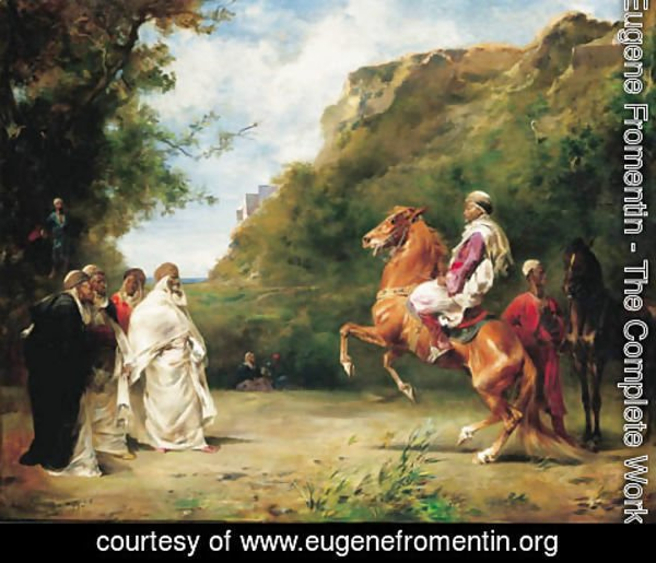 Eugene Fromentin - The Horse Merchant