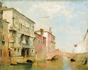 View Of Canal Della Misericordia, Venezia