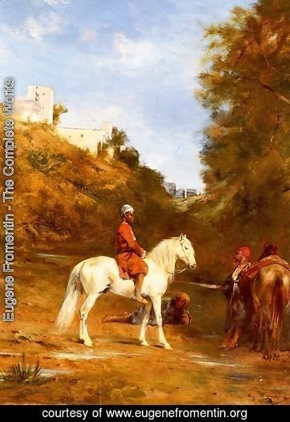 Eugene Fromentin - Watering The Horses